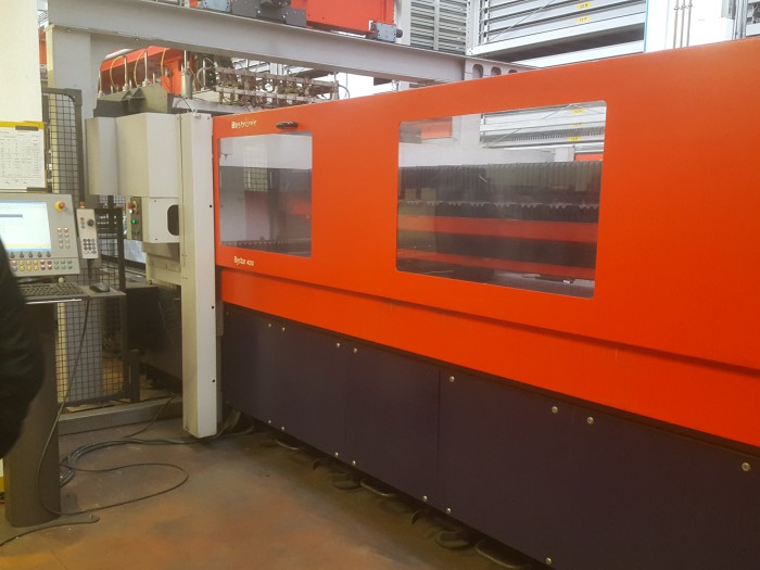 Laser cutting machine Bystar 4020 4.4kw 2005