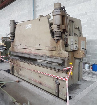 Used press brake Colgar 4000x240 ton