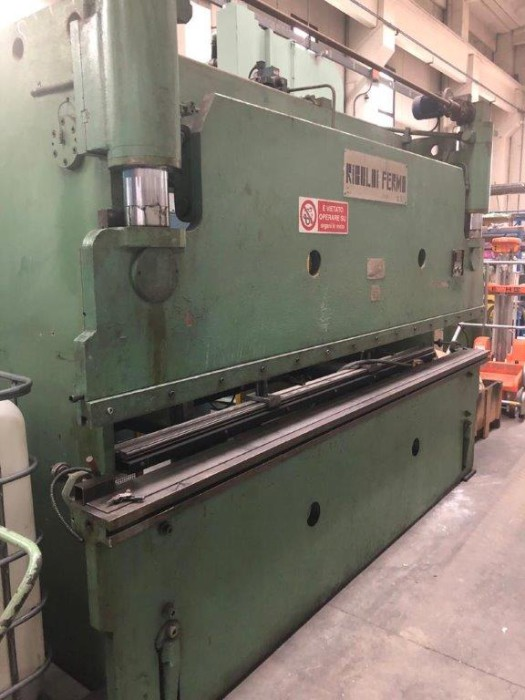 Used press brake Fermo Riboldi 3000x60 ton