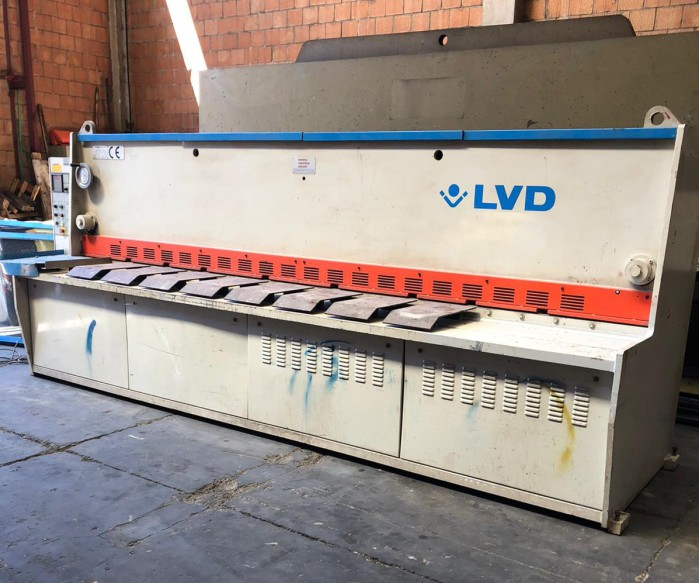Used hydralic Shears LVD 4050x6mm