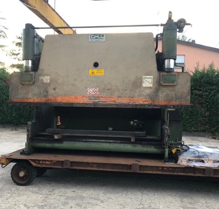 Used press brake CMLL 4000X160T