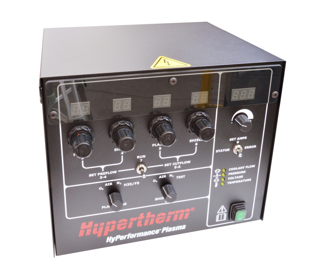 manual gas console hypertherm