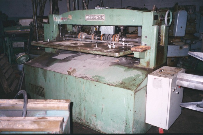 BEHRENS LONGITUDINAL SHEAR