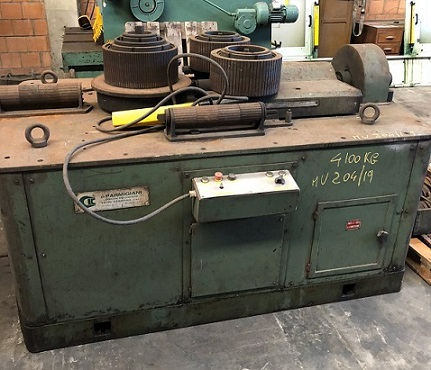 Used section bending Parmigiani Mercury
