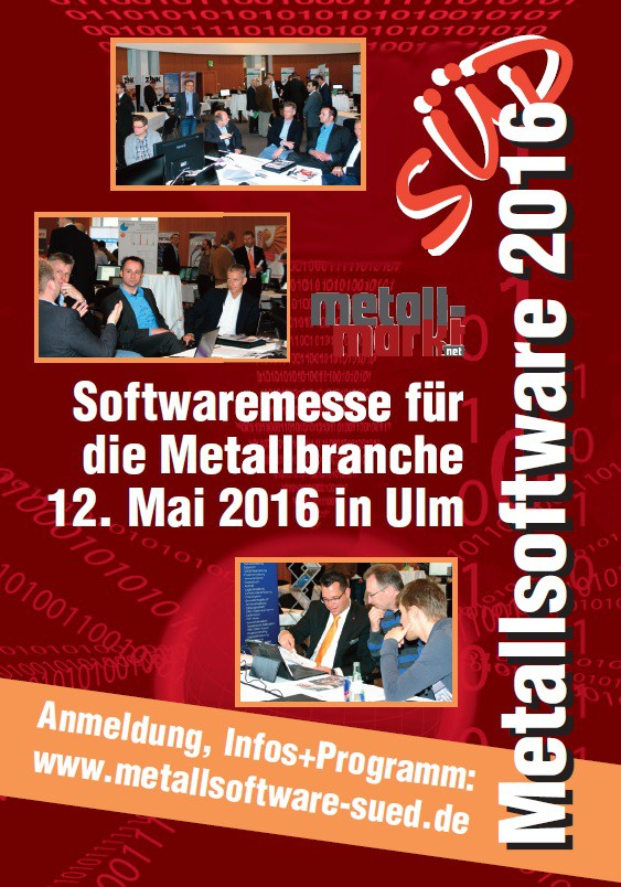 Metallsoftware Süd 2016