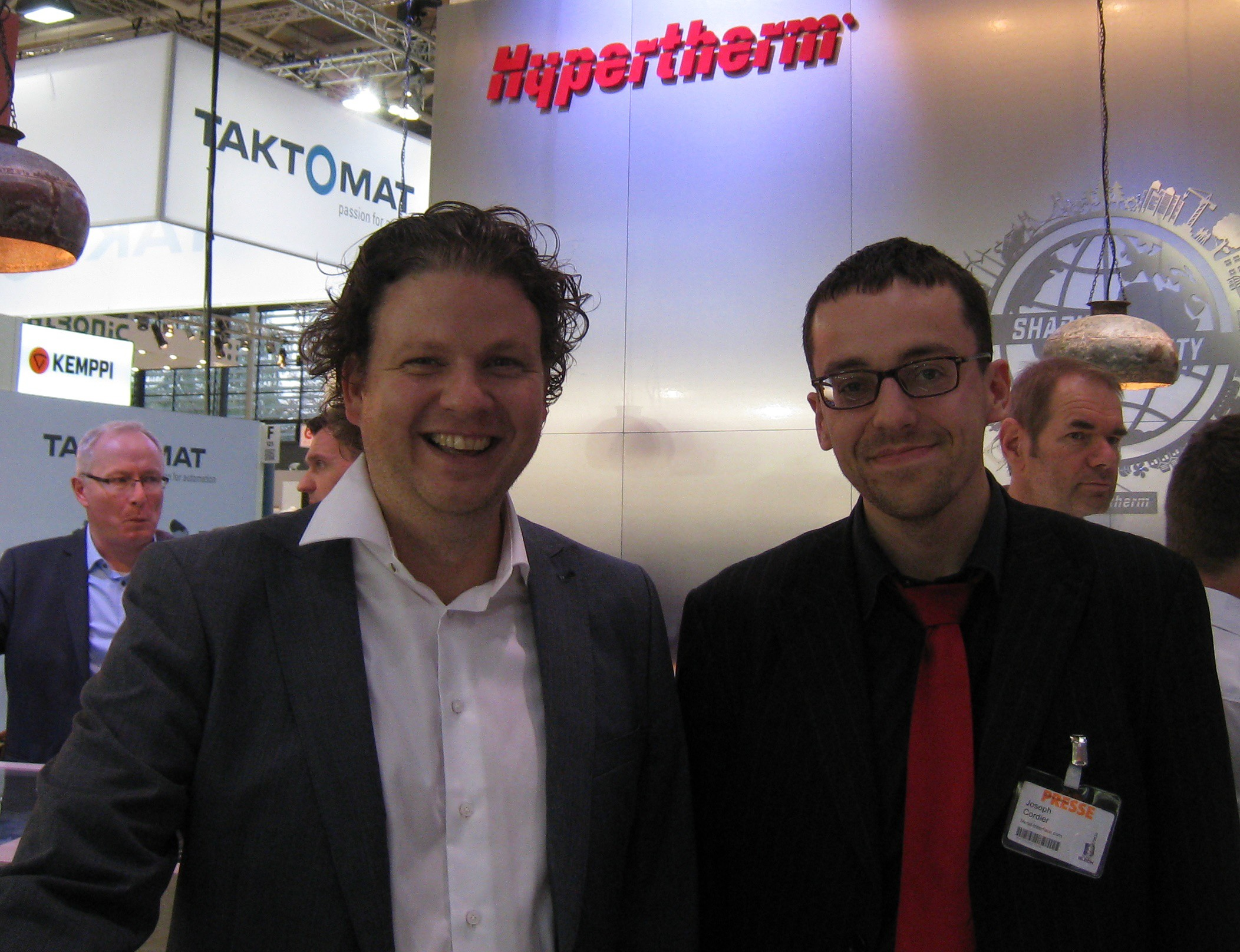 Hypertherm, the world leader of industrial cutting solutions